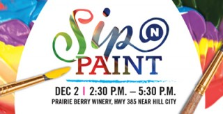 Don't miss December's Sip 'n Paint.