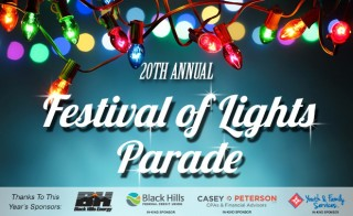 20th Annual Festival of Lights Parade - Rapid City