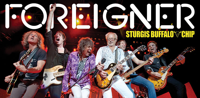 Foreigner Live and In Concert at the Buffalo Chip