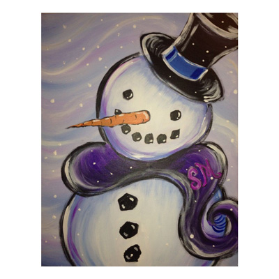 Want to paint this? Join Prairie Berry Winery for January's Sip 'n Paint event on Saturday, Jan. 13.