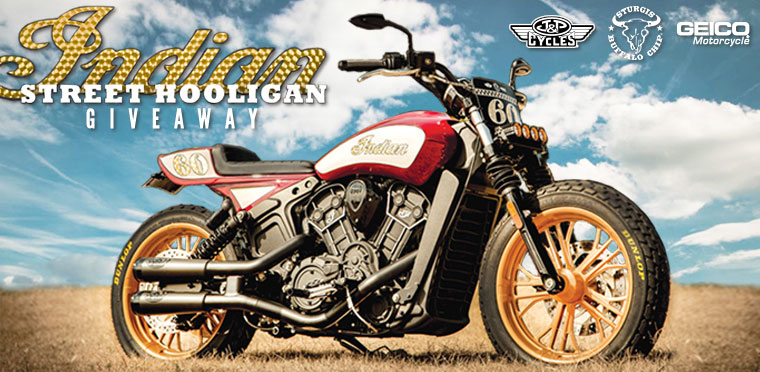 Sweepstakes Indian Street Hooligan Bike Giveaway